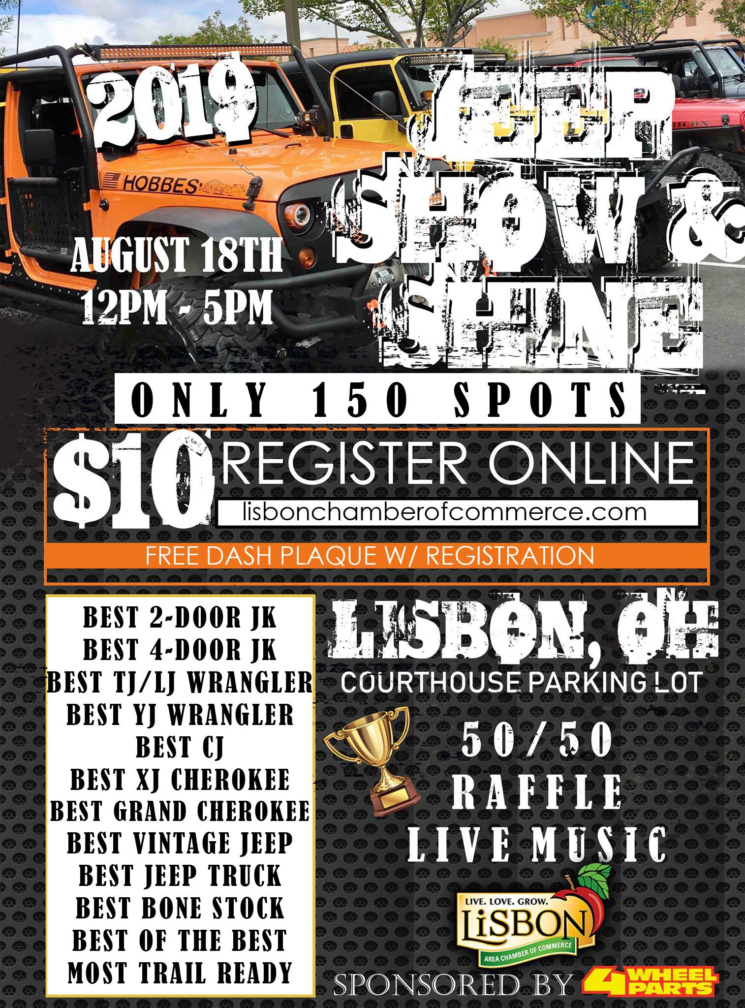 Jeep Show flyer image